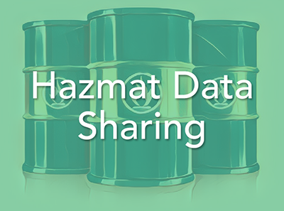 Hazmat Data Sharing